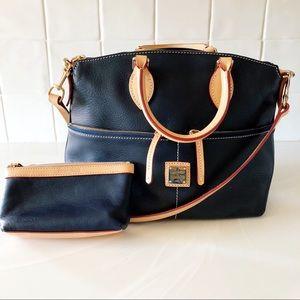Dooney & Bourke Leather Satchel Handbag